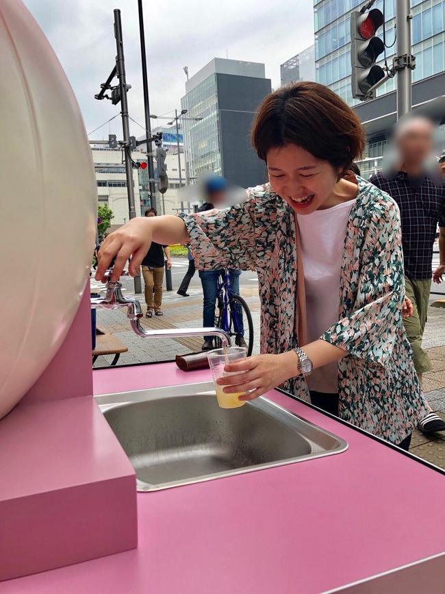 桃ジュース 蛇口 秋葉原 アキバ CHABARA 百貨店に関連した画像-07