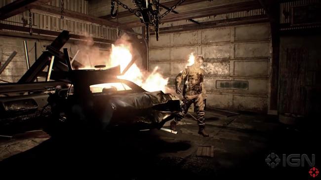 閲覧注意 バイオハザード バイオハザード7 プレイ映像 ヘッドショット 火ダルマ 不死身 おっさんに関連した画像-12