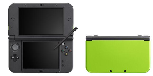 3DS 新色 3DS ライム ブラック ピンク ホワイトに関連した画像-03