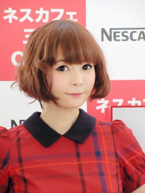 中川翔子 しょこたん 髪型 ヘアスタイル ショートヘア ネスカフェ イベントに関連した画像-03