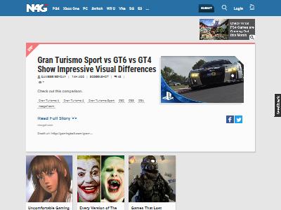グランツーリスモ GTスポーツ GT6 GT4 比較 画像 スクショ グラフィックに関連した画像-02