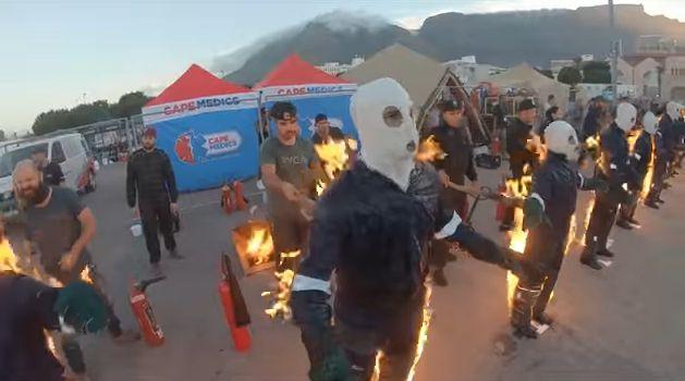 ギネス記録 火だるま 動画 狂気に関連した画像-04