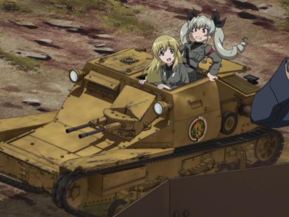 CV-33 ガルパン 戦車 職質に関連した画像-01