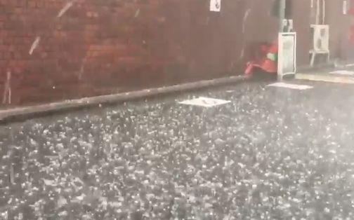 ゲリラ豪雨 関東 雹に関連した画像-01