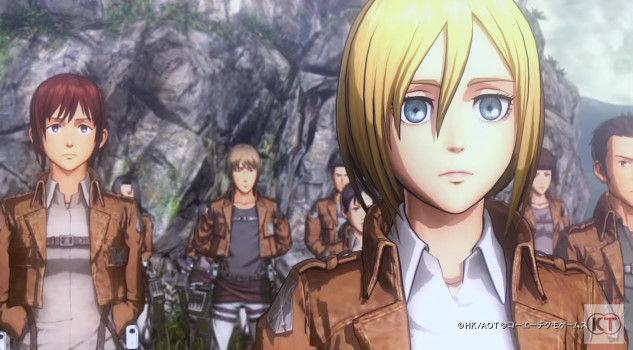 進撃の巨人 PS4 ゲーム PVに関連した画像-17