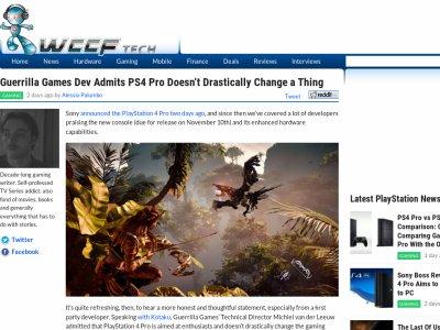 PS4 PRO ビジュアル ゲリラゲームズに関連した画像-02