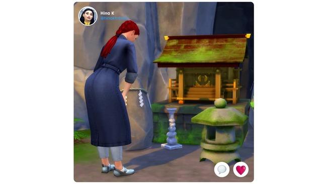 Sims4 日本 神社参拝に関連した画像-03