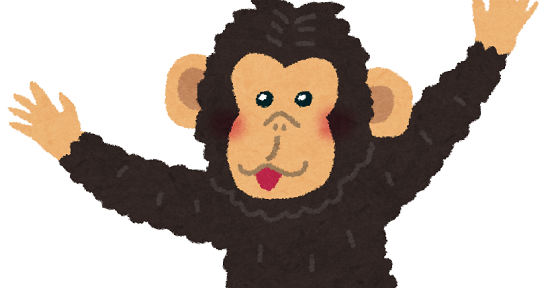 チンパンジーカメ食事映像に関連した画像-01