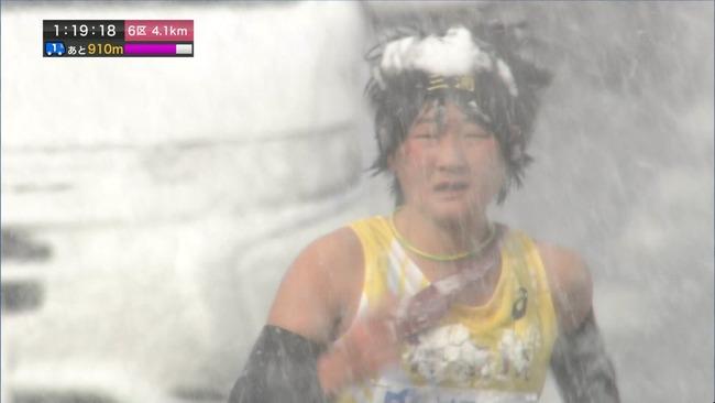 全国女子駅伝 雪 大雪 NHKに関連した画像-03