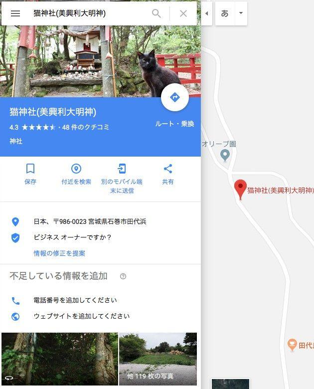 Googleストリートビュー ネコ 悪魔 海外に関連した画像-03