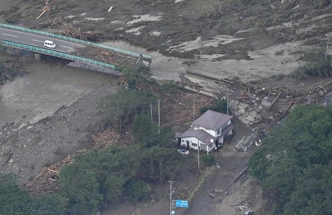 台風10号 台風 岩手県 岩泉町 ツイッター ハイキュー つぶやき 一時停止に関連した画像-01