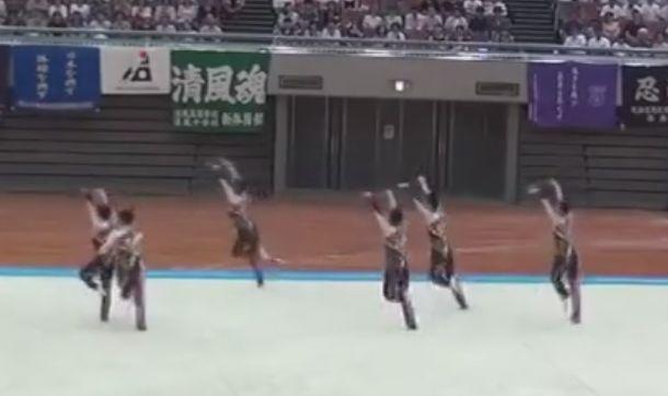 妖怪ウォッチ 鹿児島実業 男子 新体操 インターハイに関連した画像-01