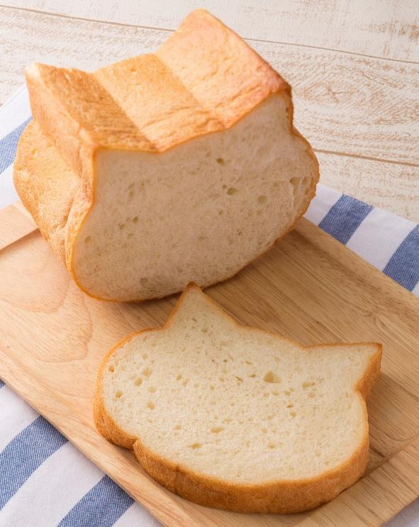 ねこ型食パン パン かわいい 猫 大阪 パン屋に関連した画像-03