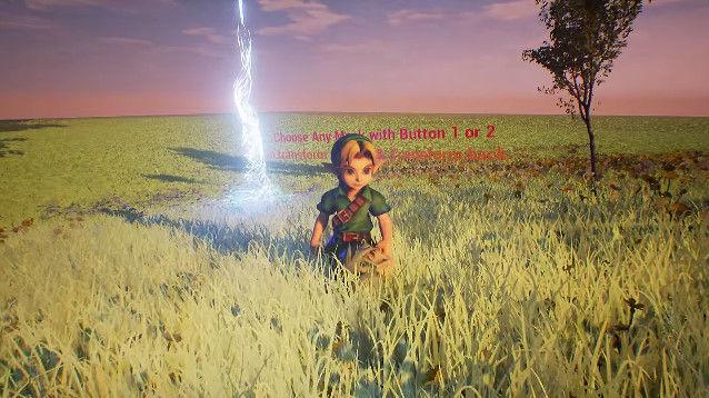 アンリアルエンジン4 ゼルダの伝説 ムジュラの仮面に関連した画像-01