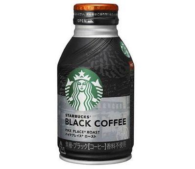 スターバックス スタバ サントリー 缶コーヒー ボトル ブラックコーヒー パイクプレイス ローストに関連した画像-01