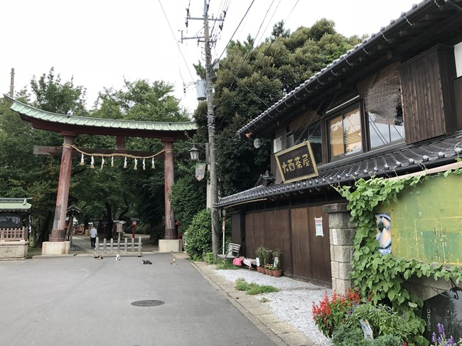 らき☆すた 鷲宮神社 鳥居 崩壊に関連した画像-03