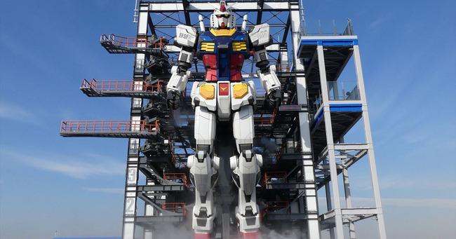 機動戦士ガンダム 実物大立像 予定 バンダイに関連した画像-01