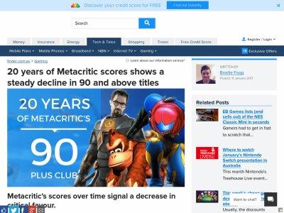 メタスコア メタクリティック ゲームに関連した画像-02