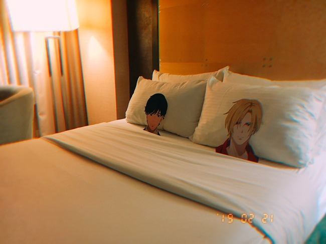 バナナフィッシュ お面 ホテル ベッド 放置 に関連した画像-02