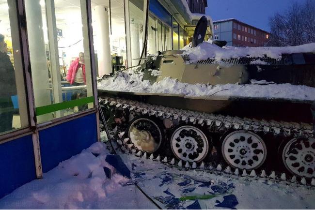 ロシア 戦車 コンビニに関連した画像-03