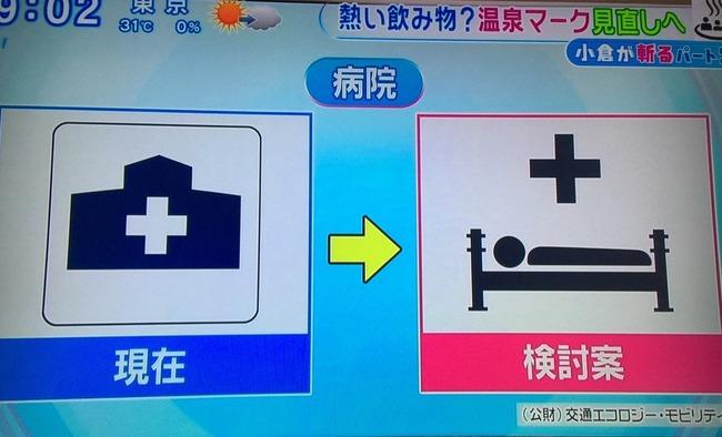 温泉マーク 経産省 外国人 観光客 誤解 変更 新マーク 病院 東京五輪に関連した画像-07