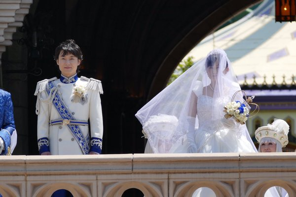 西又葵 結婚式 ディズニーランド シンデレラ城 イラストレーター 三宅淳一に関連した画像-04