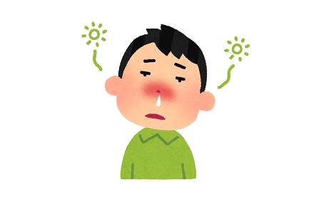 くしゃみ 鼻水 風邪 アレルギーに関連した画像-01