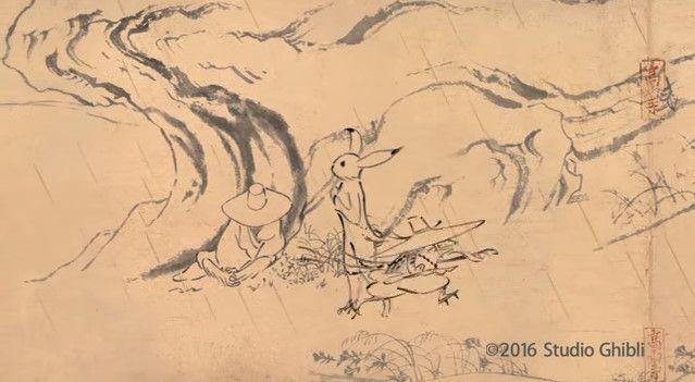 鳥獣戯画 ジブリ アニメ CM 丸紅新電力に関連した画像-02