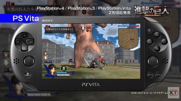 進撃の巨人 PSVita版 PS3版 グラフィックに関連した画像-08