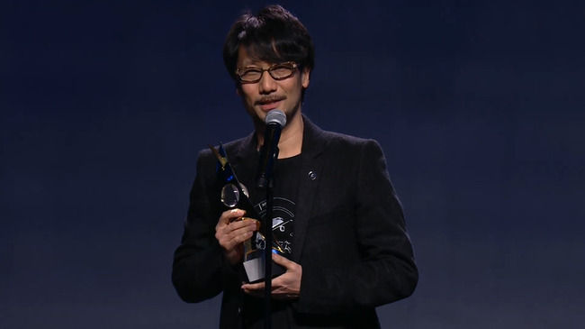 小島秀夫 コナミ KONAMI ゲームアワードに関連した画像-01