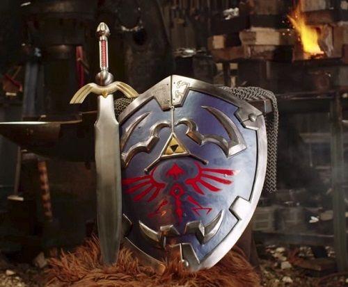 ゼルダの伝説 ハイラルの盾 マスターソード 鍛冶屋 海外 剣 リンク 任天堂 宮本茂に関連した画像-05