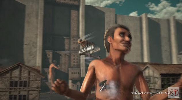 進撃の巨人 PS4 ゲーム PVに関連した画像-08