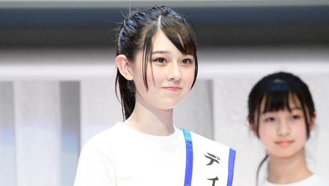 ミス・ティーン・ジャパン グランプリ 石川花 美少女 中学生 橋本環奈に関連した画像-01