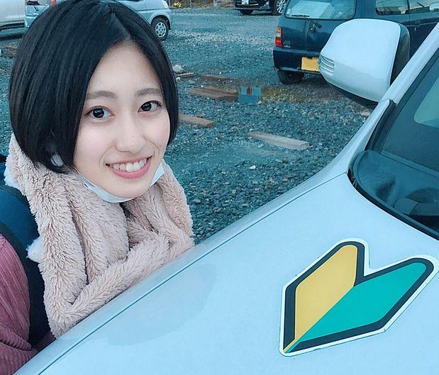 小泉留菜 アイドル 自動車 教習所 教官 運転免許 試験 炎上 公道 危険に関連した画像-01
