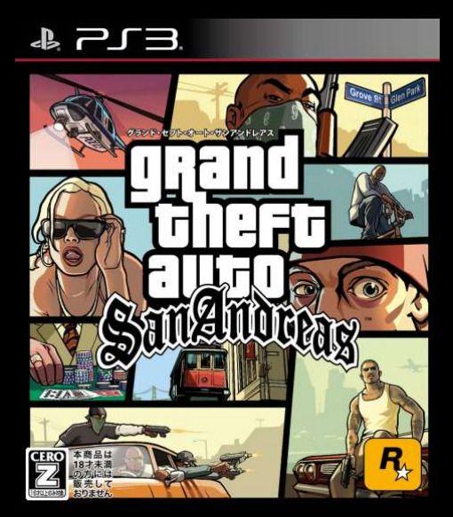 GTA SA グランドセフトオート サンアンドレアス PS3 リメイク 移植 ロックスターゲームスに関連した画像-05