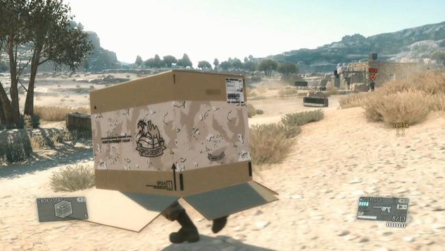 ダンボール メタルギア 不法侵入 スネークに関連した画像-01
