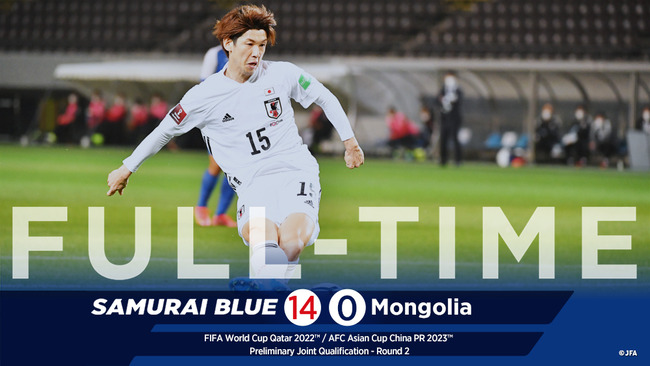 W杯予選 日本代表 モンゴル マナー違反 礼儀知らず 大量得点に関連した画像-01