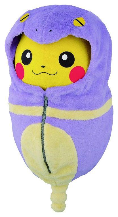 ピカチュウ ポケモン 一番くじ バンプレスト ぬいぐるみ 寝袋に関連した画像-04