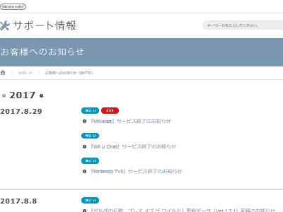 Miiverse WiiU サービス終了 任天堂 3DSに関連した画像-02