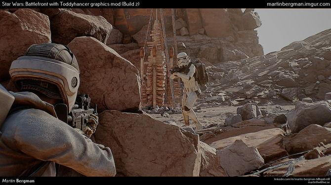 スターウォーズ バトルフロント MOD グラフィックに関連した画像-01
