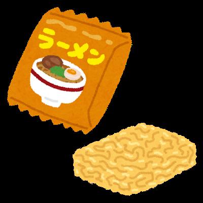 袋麺 カップ麺 若者に関連した画像-01
