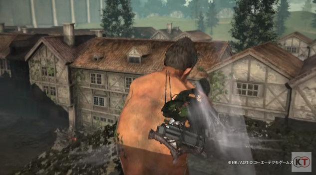 進撃の巨人 PS4 ゲーム PVに関連した画像-16