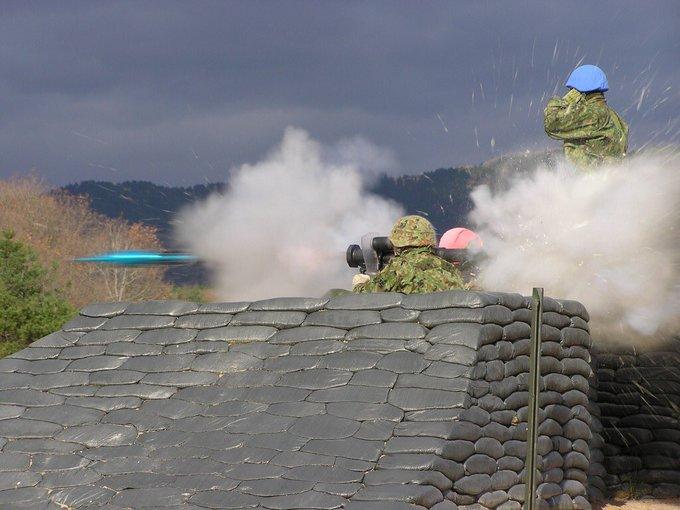 土嚢 自衛隊 芸術的 軍隊に関連した画像-08