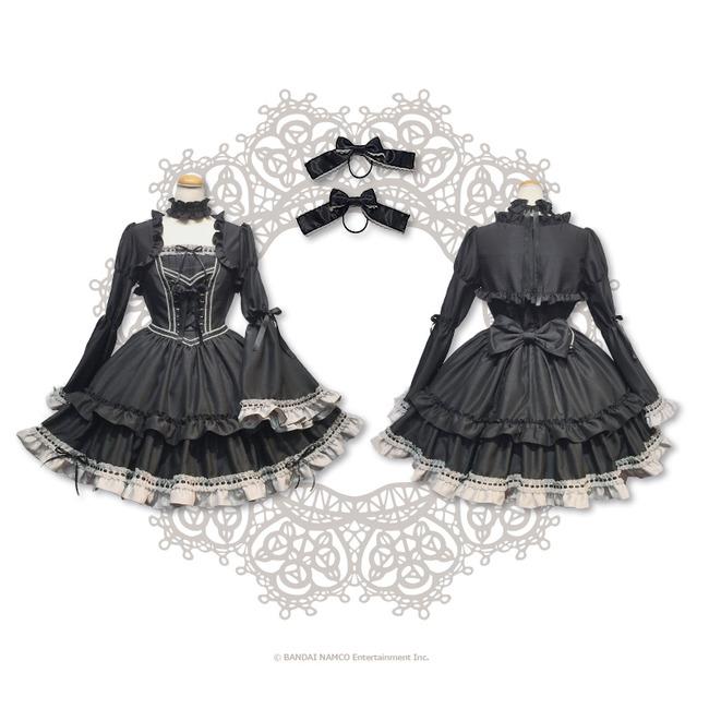 デレマス 神崎蘭子 ファッションブランド コラボ 完全再現 ゴシックドレス ゴスロリ 受注販売に関連した画像-04