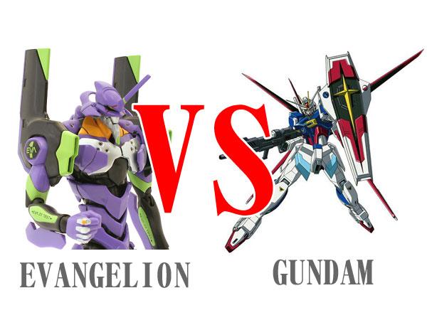 ガンダム vs エヴァ