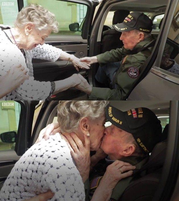 第二次世界 引き裂かれたカップル 75年ぶり 運命 再会に関連した画像-04