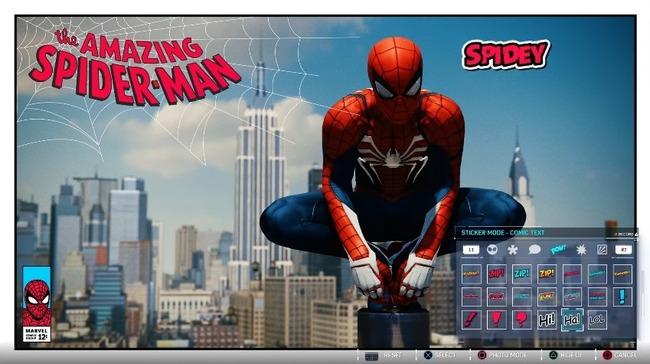 スパイダーマン フォトモード アメコミ風に関連した画像-08