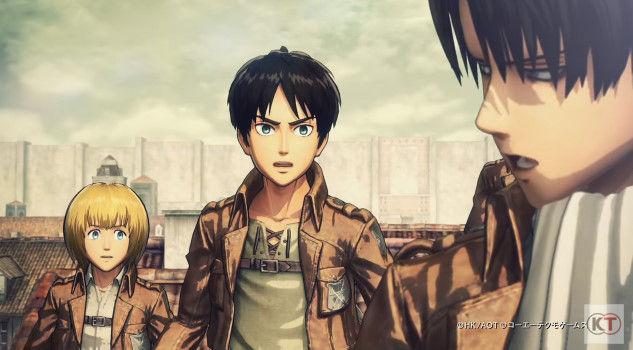 進撃の巨人 PS4 ゲーム PVに関連した画像-21