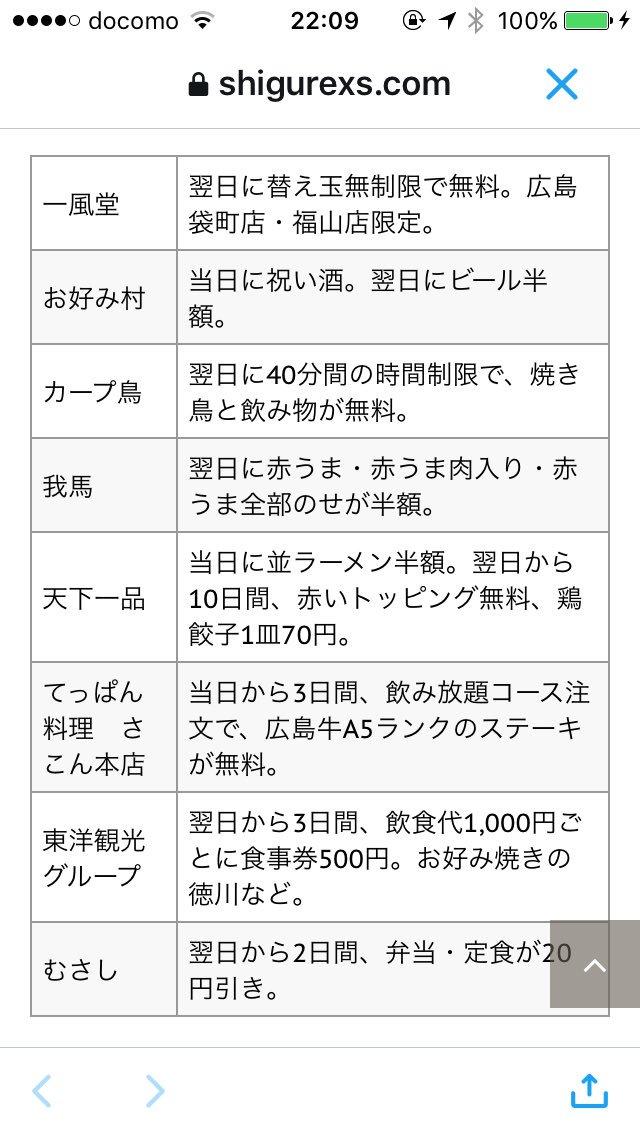 広島カープ 25年ぶり 優勝 優勝セール 広島市 フリー 無料に関連した画像-02