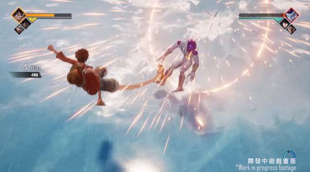 ジャンプフォース プレイ動画 ワンピース ナルト ドラゴンボールに関連した画像-12